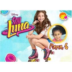 Oblea Soy Luna Montaje con Foto - Dina4
