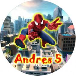 Oblea de Spiderman