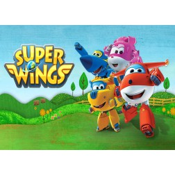 Oblea de Super Wings Dina4