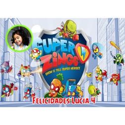 Oblea Superzings Montaje con Foto - Dina4