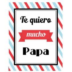 Oblea Galletas Te Quiero Papa