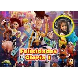 Oblea Toy Story Montaje con Foto - Dina4