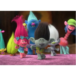 Oblea Trolls Rectangular -  A4