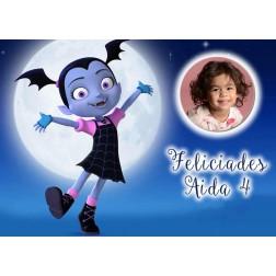 Oblea Vampirina Montaje con Foto - Dina4