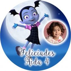 Oblea Vampirina con Foto - Redondo