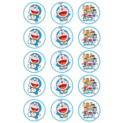 Oblea Galletas Doraemon