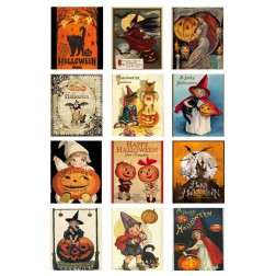 Oblea Galletas Halloween Vintage