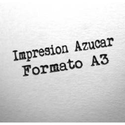 Impresión Comestible en papel de Azúcar - Formato A3