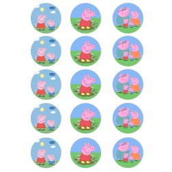Oblea Galletas Peppa Pig