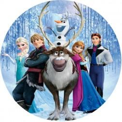 Oblea Personajes Frozen