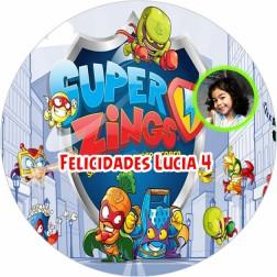 Oblea SuperZings con Foto - Redondo
